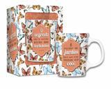 Caneca porcelana premium - frases - borboletas mq - Brasfoot