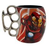 Caneca soco inglês homem de ferro avengers - 350ml - Zc