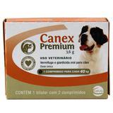 Canex Premium 40kg 2 comp Ceva - Vermífugo Cães