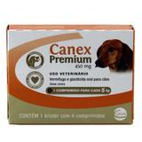 Canex Premium 5kg 4 comp Ceva - Vermífugo Cães
