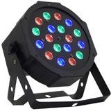 Canhão 18 LEDs Slim RGB - GT69 - Lorben