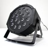 Canhão de LED Para Festas Par Led com 18 LEDs RGB - Mundo de led