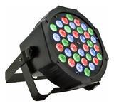Canhão de Luz Luz de Festa 36 Leds Iluminação Balada Bivolt RGB - Luatek