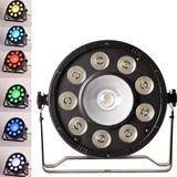 Canhão de Luz Par 10 Led RGB Profissional Festa Balada DMX GT580 - Lorben