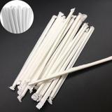 Canudo De Papel Atacado 1000 Uni Biodegradável Embalado Branco - Ab midia