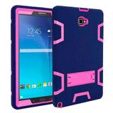 "Capa Anti-Shock Para Tablet Samsung Tab A 10.1"" SM- P585 / P580 + Película Nano Premium - Lka"