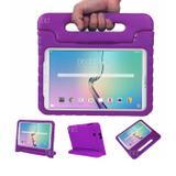 "Capa Case Protetor Infantil Anti-Choque/Impacto Galaxy Tab A P550/P555/P580 9,7"" BD NET (Roxo) - Skin t18"