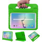 "Capa Case Protetor Infantil Anti-Choque/Impacto Galaxy Tab A P550/P555/P580 9,7"" BD NET (Verde) - Skin t18"