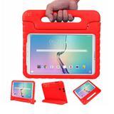 "Capa Case Protetor Infantil Anti-Choque/Impacto Galaxy Tab A P550/P555/P580 9,7"" BD NET (Vermelho) - Skin t18"
