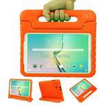 """Capa Case Protetor Infantil Anti-Choque/Impacto Galaxy Tab E T560/T561 9,6"""" (Laranja) - Skin t18"""