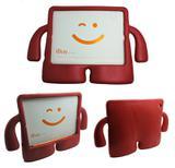 Capa Case Protetor Infantil Anti-Choque/Impacto iPad 2/3/4 (Vermelho) - Skin t18