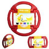 "Capa Case Protetor Infantil Anti-Choque ""Volante"" Galaxy Tab E T113/T115/T116 7"" BD NET (Vermelho) - Skin t18"