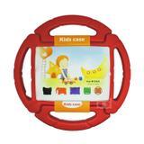 """Capa Case Protetor Infantil Anti-Choque """"Volante"""" para iPad 2/3/4 - BD NET (Vermelho) - Skin t18"""