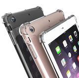 Capa Case Silicone Tpu Transparente reforçada Ipad 6 2018 Ipad 5 2017 - Tpu silicone