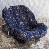 Capa de Bebê Conforto Adapt - Nobreza Marinho - Laura baby