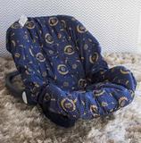Capa de Bebê Conforto Adapt Nobreza Marinho - Laura baby