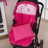 Capa de Carrinho de Bebê 2 peças Balão Pink - I9 baby