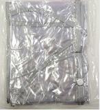 Capa de chuva para carrinho borda cinza/transparente - Estrelar