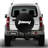Capa de Estepe Jimny 4All 12 a 17 Jimny 4Sun 12 a 16 Basic Preto e Branco Com Cadeado - Splody