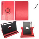Capa Giratória Galaxy Tab S6 T860/T865 10.5 Can Touch Vermel - Bd cases