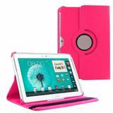 "Capa Giratória Inclinável Para Tablet Samsung Galaxy Note 10.1"" GT-N8000 / N8010 / N8020 - Lka"