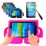 "Capa Infantil Iguy Tablet Samsung Galaxy Tab4 7"" SM- T230 / T231 / T235 + Película de Vidro - Lka"
