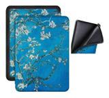 Capa Kindle 10ª geração com iluminação embutida Auto Hibernação Fecho Magnético  Silicone Apricot - Fullmosa
