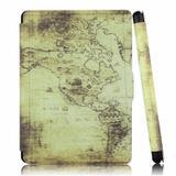 Capa Kindle 8a Geração WB Auto Liga/Desliga - Ultra Leve Mapa Ancião
