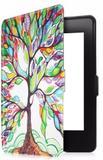 Capa Kindle Paperwhite 10ª geração à prova d'água - Hibernação - Fechamento magnético - Árvore - Fullmosa