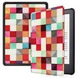 Capa Kindle Paperwhite 10ª geração à prova d'água - Hibernação - Fechamento magnético - Geométrica - Fullmosa
