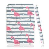 Capa Kindle Paperwhite Wb Auto Liga/Desliga - Ultra Leve Flamingos