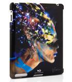 Capa Nafrotiti em cristais Swarovski para iPad 2, 3 e 4 - White Diamonds