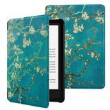 Capa Novo Kindle 10a. Geração Wb Auto Liga/Desliga - Ultra Leve Flores
