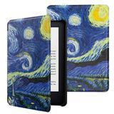 Capa Novo Kindle 10a. Geração Wb Auto Liga/Desliga - Ultra Leve Van Gogh