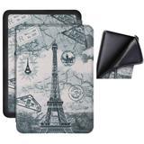 Capa Novo Kindle Paperwhite 4  (à Prova Dágua) - Silicone - Paris - Fullmosa