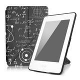 Capa Novo Kindle Paperwhite a prova D'água Wb - Origami Auto Hibernação Fecho Magnético Eureka