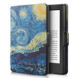 Capa Novo Kindle Paperwhite A Prova D'água Wb - Ultra Leve Auto Hibernação Fecho Magnético Van Gogh