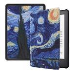 Capa Novo Kindle Paperwhite à Prova dágua - Auto hibernação - Fechamento magnético - Van Gogh - Fullmosa