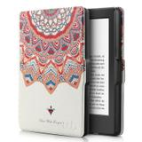 Capa Novo Kindle Paperwhite a prova Dágua Wb - Ultra Leve Auto Hibernação Fecho Magnético Mandala