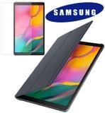 Capa Original Samsung Book Cover Galaxy Tab A 10.1 (2019) T510 T515 Com Película ative e desative a tela ao abrir/fechar