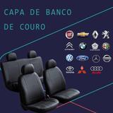 Capa para bancos automotivos em Couro / Courvin / Impermeável / Para Carro / Preta - Venan