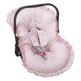 Capa para Bebê Conforto Coelhinha-Batistela Baby