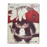 Capa para iPad 2/3 Policarbonato Gato Toread Chapéu de Frente - Mega empório
