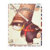 Capa para iPad 2/3 Policarbonato Gato Toread Chapéu de Lado - Mega empório