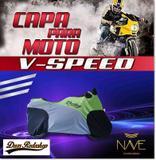 Capa para moto Speed cor verde - Nave capa de moto