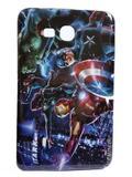 Capa para Tablet 7 Samsung Galaxy Tab T110 T111 T113 T116 Heróis Avengers Vingadores - Lucky
