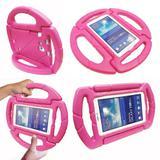 Capa para Tablet Samsung Galaxy Tab A6 A7 T280 T285 7' Anti Choque Infantil Volante - Kids case