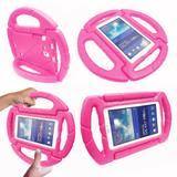 Capa para Tablet Samsung Galaxy Tab A6 A7 T280 T285 7 Anti Choque Infantil Volante - Kids case