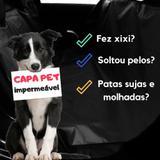 Capa Pet Protetora Impermeável para Levar Cachorro no Carro - Chiccopet