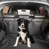 Capa Pet Protetora Porta Malas Universal Preto em Nylon Impermeável - Top gear